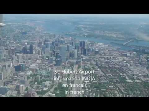 Montreal St. Hubert Airport ATIS India - CYHU Real ATC