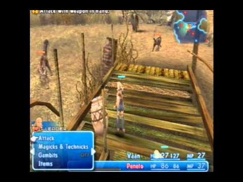 FFXII NLBLLG Walkthrough Part 1