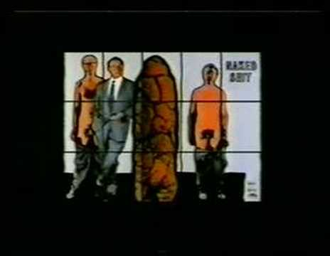 The Greeting Cards : Red Boxers - Gilbert & George