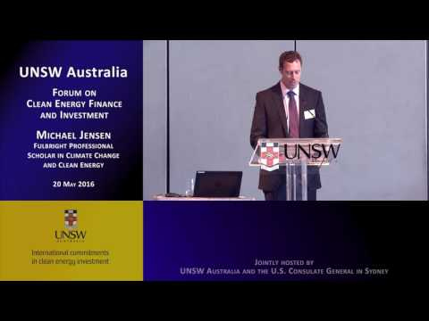 UNSW 201605-20 Forum on Clean Energy Finance and Investment S01