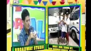 Repeat youtube video 'Jose, Nilaglag si Bossing' Eat Bulaga - August 3, 2013
