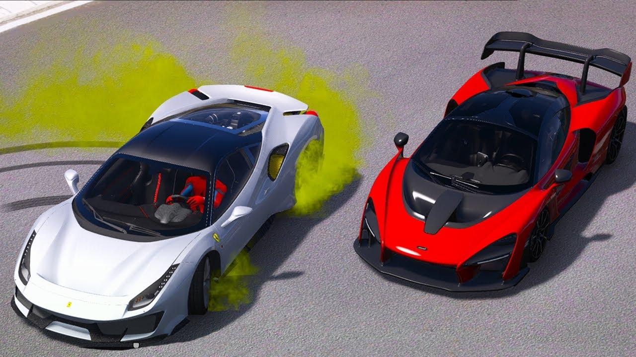 Son Model Spor Arabalar Performans Parkuruna Gidiyor Youtube