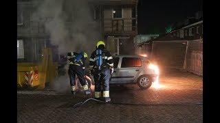 Auto brandt volledig uit in Heemskerk | 16/02/2019