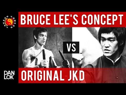 Bruce Lee's Jeet Kune Do Concept vs Original