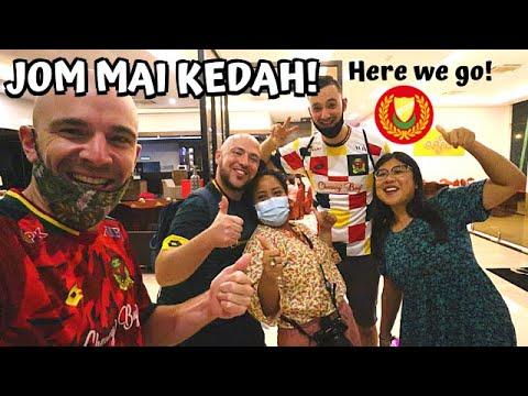 Hello KEDAH!! Trying local food + Reunion w/@Ken Abroad & @Food and Footprints- MALAYSIA TRAVEL VLOG