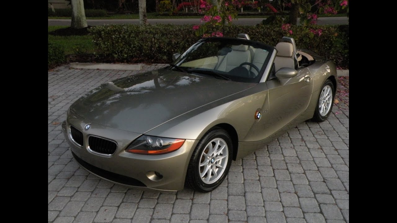 2004 Used Bmw Z4 For Sale Fort Myers Florida 33908 Youtube