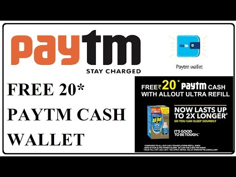 paytm payment wallet promo code