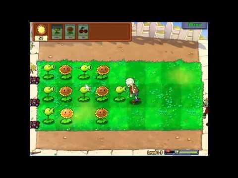 Gameplay Plants Vs Zombies Level 1-3