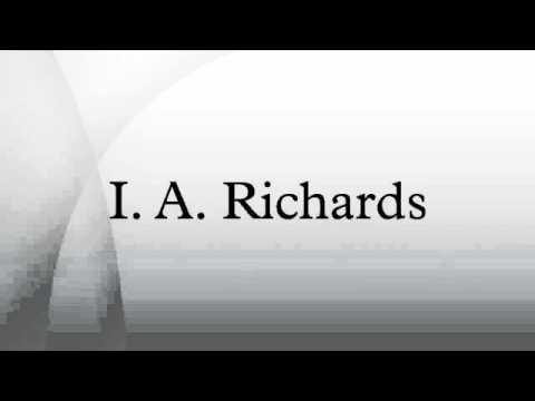 I  A  Richards