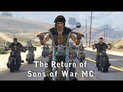 The Return of Sons of War MC (GTA5 Machinima)