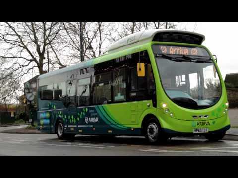 Wirelessly Charged Electric Bus Trial starts in Milton Keynes - Jan 2014