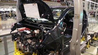VW e-up Production