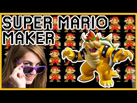 How Many Times Must Mario DIE?!! // Mario Maker [100 Mario Challenge]