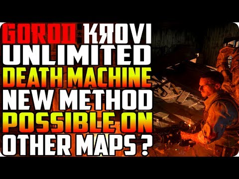 """BO3 Zombie Glitches:""""Gorod Krovi"""" New Unlimited Death Machine Method (Possible On Other Maps)"""