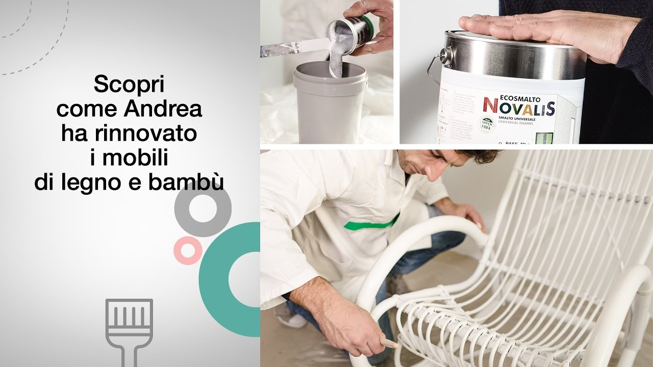 Rinnova Una Sedia A Dondolo Di Bamb Con Novalis Ecosmalto