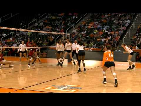 Tennessee Volleyball - Georgia Highlights