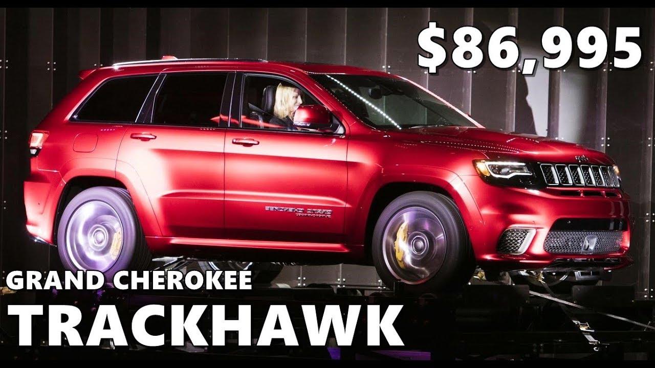 2018 jeep trackhawk interior. unique interior 2018 jeep grand cherokee trackhawk  interior exterior walkaround intended jeep trackhawk interior