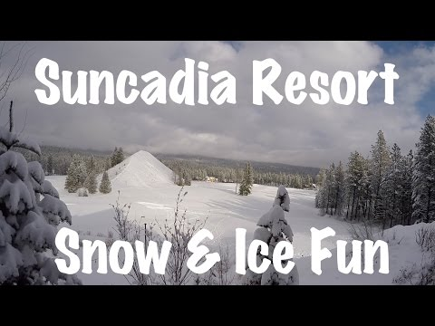 Suncadia Resort Cle Elum Washington Restaurant, Ice Skating & Snow Fun