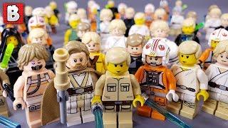 Every LEGO Luke Skywalker Minifigure EVER MADE! 2019 Update