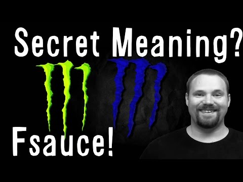Monster Energy Drink (secret message)