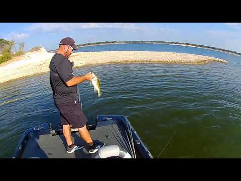 Lake Whitney Pre Cold Front Bass Fishing