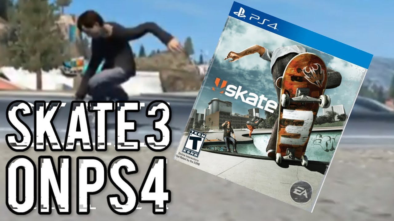 SKATE 3 ON PS4?!?! (Skate 3 Gameplay)