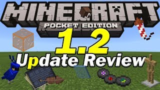 Minecraft PE 1.2 UPDATE REVIEW thumbnail