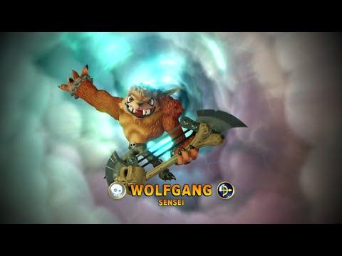 Skylanders Imaginators Wolfgang E3 2016 Demo Gameplay