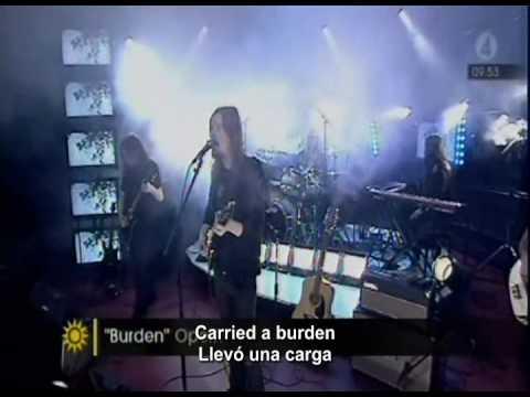 Opeth - burden(subtitulos)