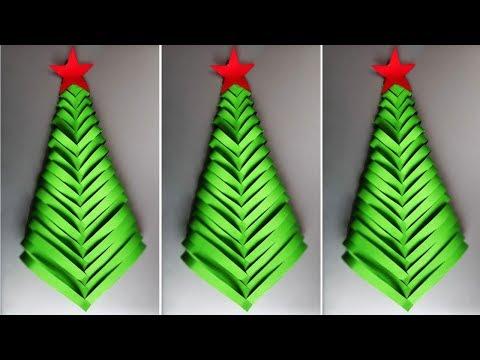 DIY Paper Christmas Tree | Christmas Tree Ornaments | Christmas Decorations