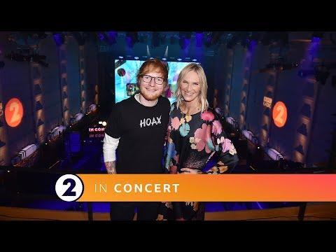Ed Sheeran chats ahead of his Radio 2 In Concert