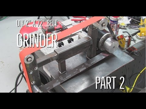 DIY 2 x 72 belt grinder part 2