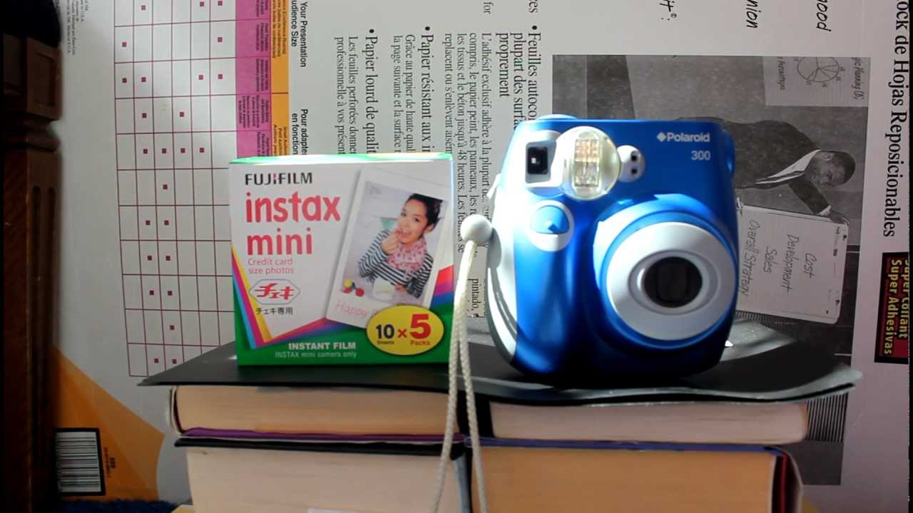 f74d6ab03375 Does instax mini film work with the polaroid 300  - YouTube
