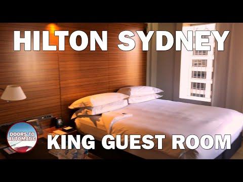 Hilton Sydney - King Guest Room Review