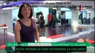 PATAS ARRIBA - DESCOMPRIME TU COLUMNA