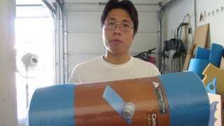 How to Make a Foam Round Shield/Buckler Part 1 of 3