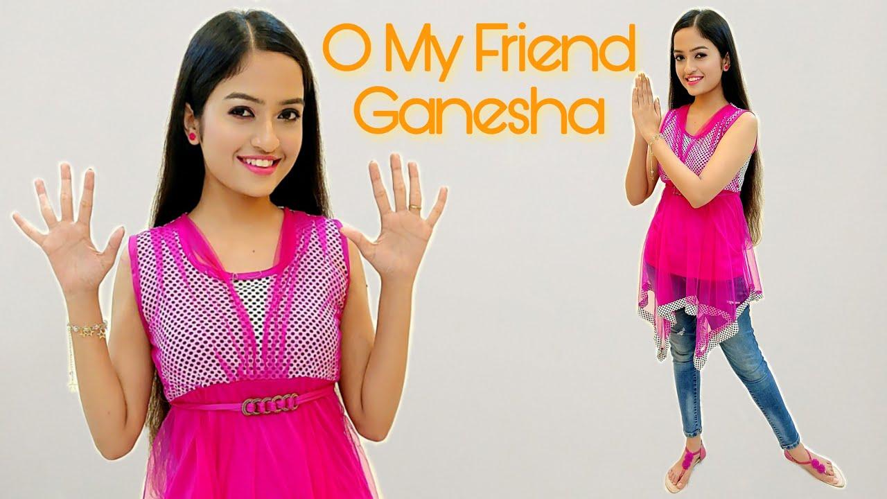O My Friend Ganesha   Ganesh Chaturthi Special Dance for Kids   Easy Steps   Aakanksha Gaikwad