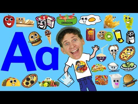 Food Alphabet Phonics Song for Kids | Do You Like Apples? Song  | Learning Food and ABCs