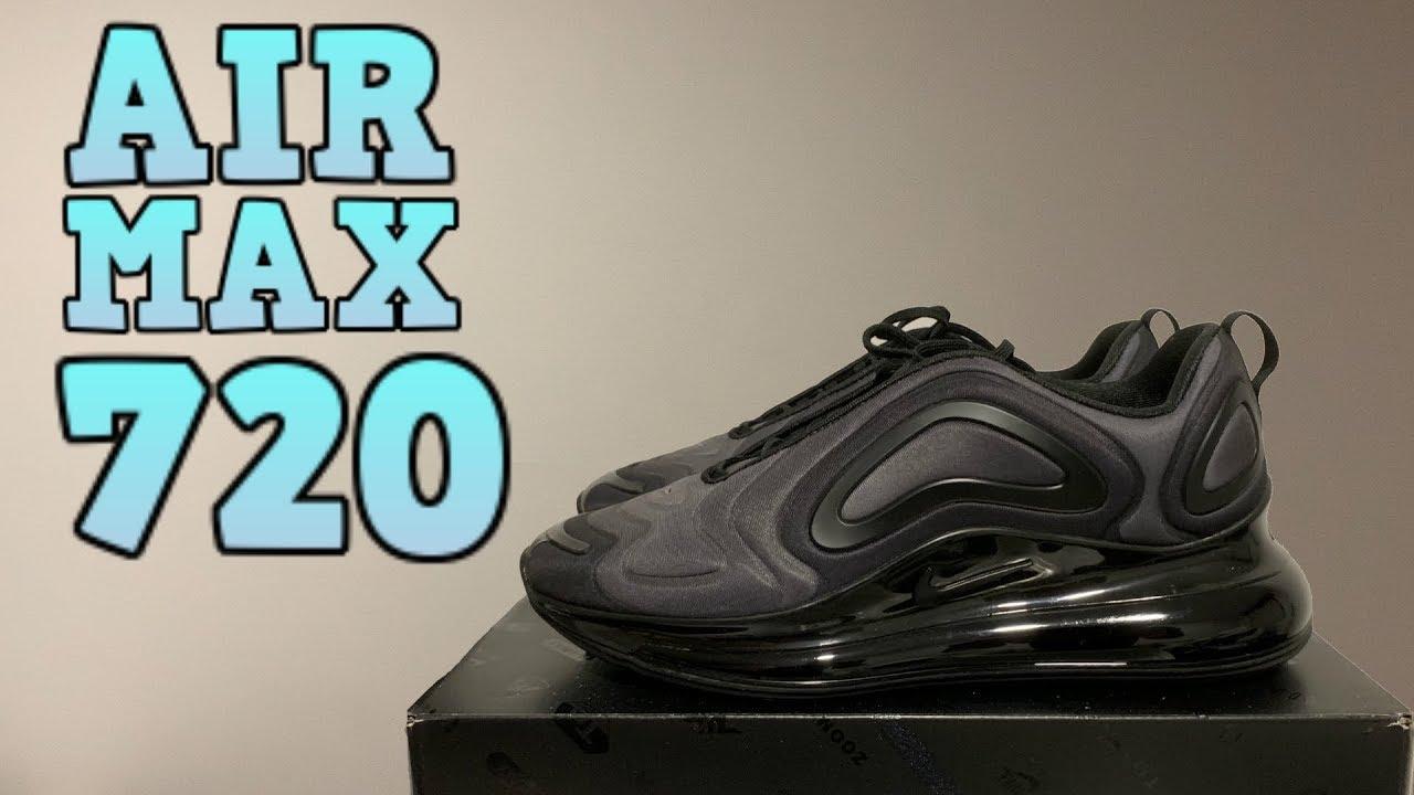 air max 720 nike negras