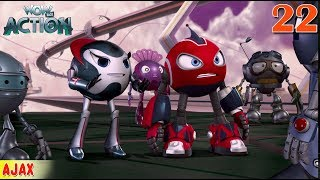Rollbots in Hindi | Ep22 | Full Episode - Ajax | Hindi Cartoon For Kids | Wow Kidz Action
