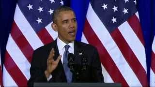 President Obama's Full NSA Speech