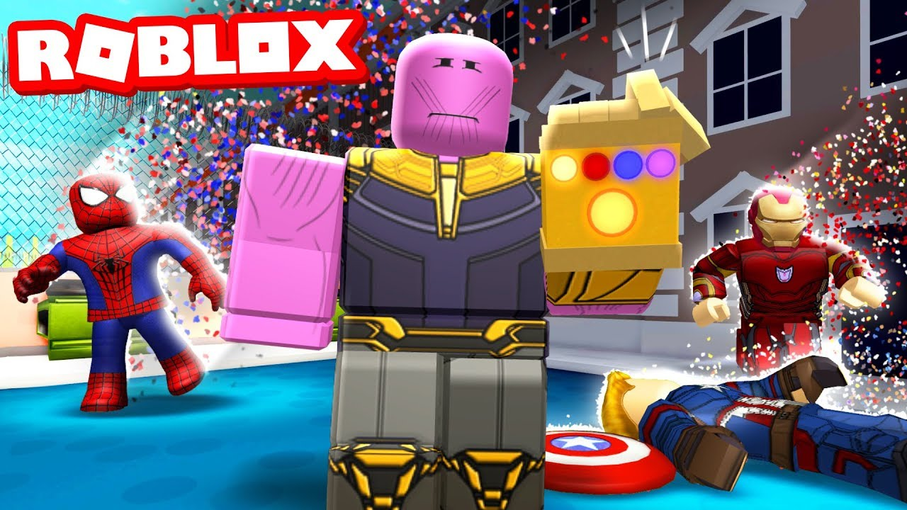 Infinite Obby More Songs Roblox - Wiping Out Half The Server With Infinity Snap In Superhero Simulator Roblox