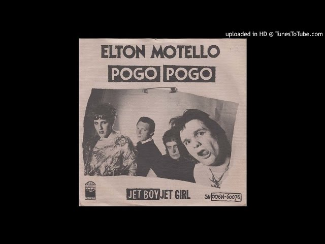 Elton Motello - Jet Boy Jet Girl