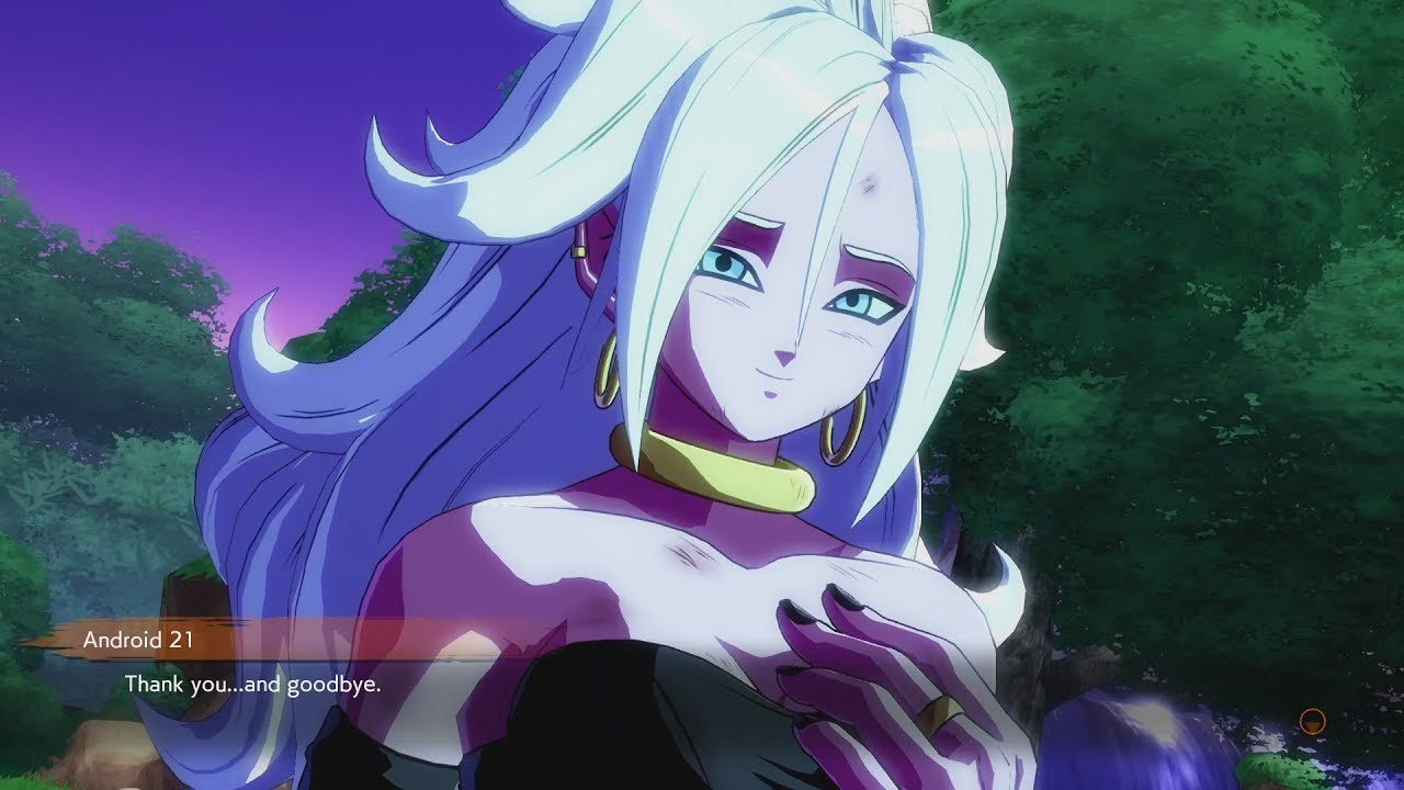 Dragon ball fighterz good ending android 21 vs z fighters youtube - Dragon ball z 21 ...