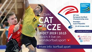 IKF U21 EKC 2019 CAT - CZE