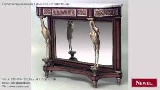 French Antique Console Table Louis Xiv Tables For Sale