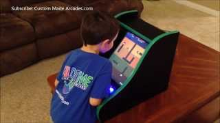 Bartop Tabletop Mini Arcade 60 In 1 Jamma Icade Card By Custom Made Arcades