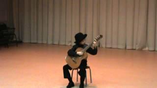 Лёгкий блюз, Испанский танец