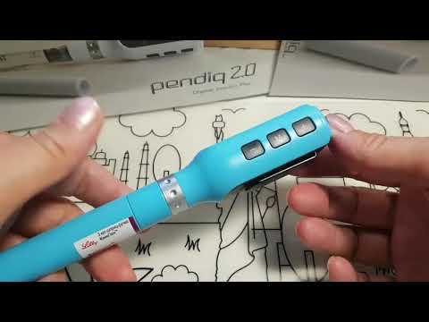 Обзор инсулиновой шприц-ручки с шагом 0.1 Pendiq 2.0