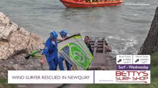Pirate FM's Video News: Windsufer Rescued